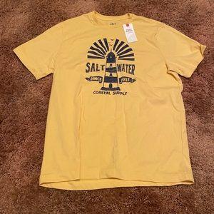 New Men's IZOD Saltwater Classics T-Shirt
